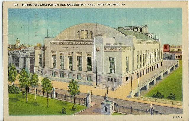 Civic Convention Hall Auditorium, Philadelphia