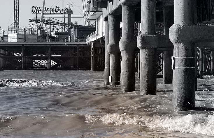 Photography - South Pier Rides by Nicholas M Vivian