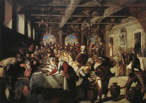 TINTORETTO The Marriage at Cana