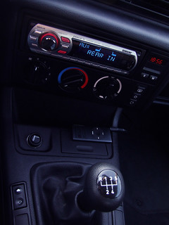 BMW 316 Compact Black Interior