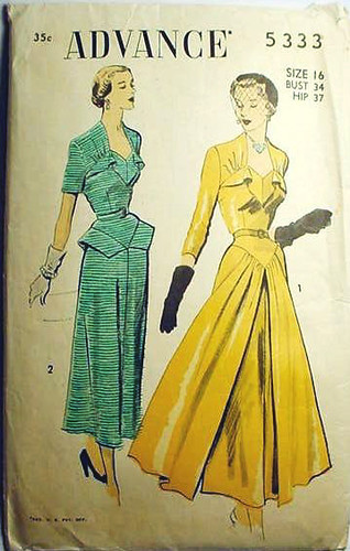 advance dress 5333