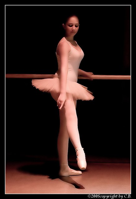 Sweet steps of dance...