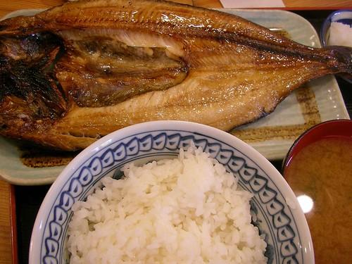 真ほっけ定食(めし屋, 月島) Lunch @ Meshiya - 無料写真検索fotoq