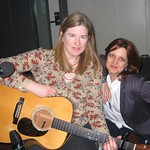 Jennifer Kimball at WFUV with Claudia Marshall