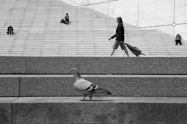 La Defense, Paris, France - 35 Fantastic Black and Whiite Street Photographs