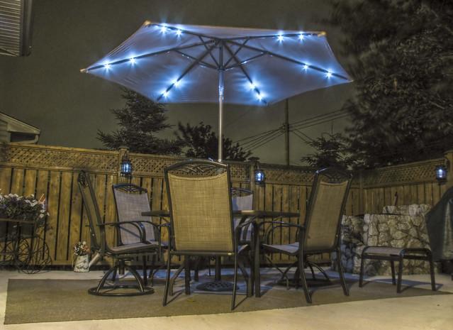 Backyard Sounds At Night : Backyard Patio at Night  Flickr  Photo Sharing!