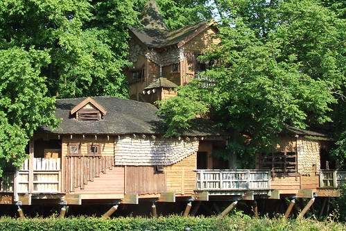 Audiences North East - summer professional development event, Alnwick Gardens (49) - tree house