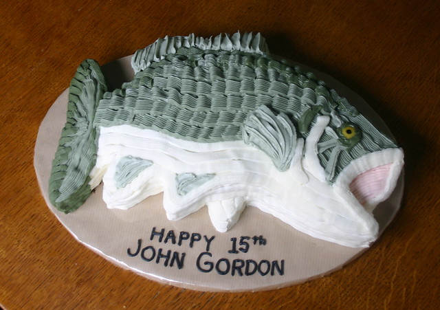 Fish Birthday Cake Fish Birthday Cake Template Fish Birthday