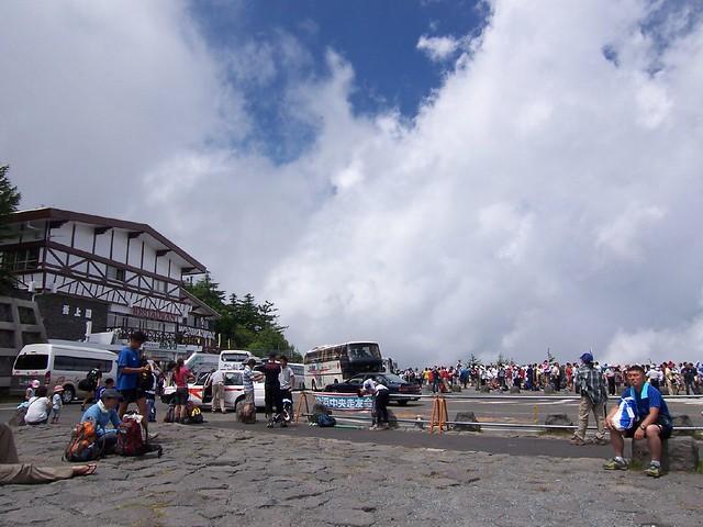 河口湖口五合目(富士山登山) Trekking Mt.Fuji