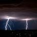Lightning by Yngve Thoresen