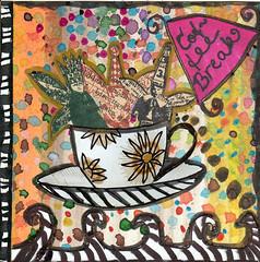 4 x4 card: Coffee break