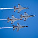 USAF Thunderbirds 4 Plane Formation