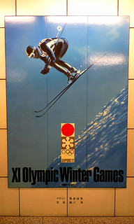 SAPPORO Olympic winter games 1972.