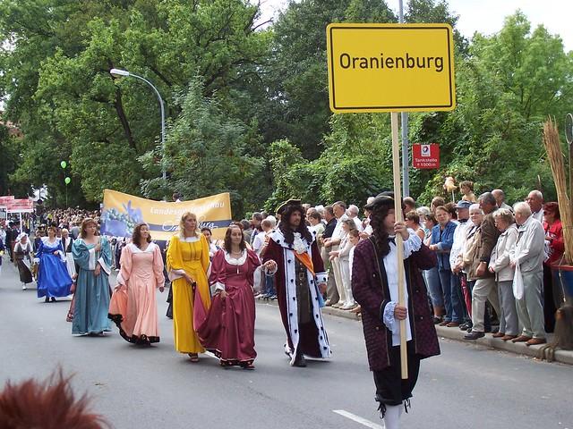 Oranienburg: Kurfürstin und Landesgartenschau