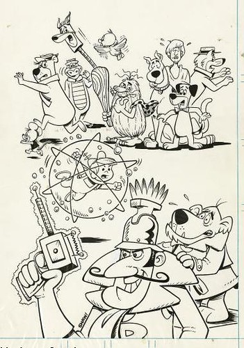 hanna barbera coloring pages - photo#14