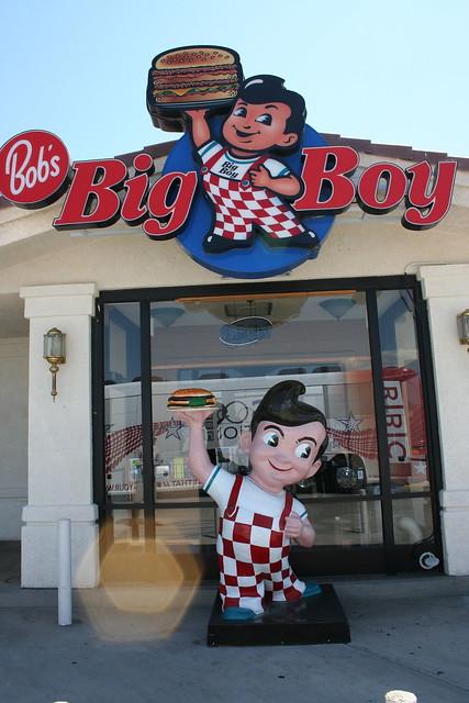 Big Boy Restaurant Food Brauny Lad Image
