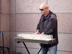 glass harmonica street performance