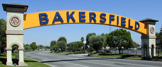 bakersfield arch sign flickr photo sharing. Black Bedroom Furniture Sets. Home Design Ideas