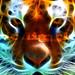 Fractal Tiger by ricdiggle