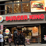 Burger King back in Shibuya