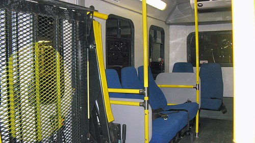 Interior view of 2001 Ford Paratransit bus # 5126. by Eddie from Chicago