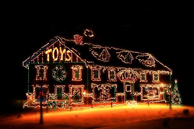 Albany NY Capital Holiday Lights In The Park