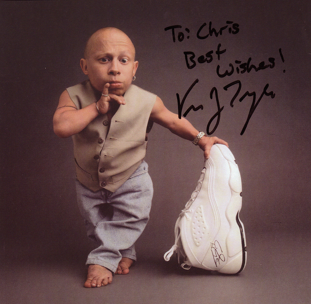 Verne Troyer Shoe Size