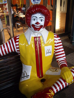 Ronald McDonald gets a makeover!