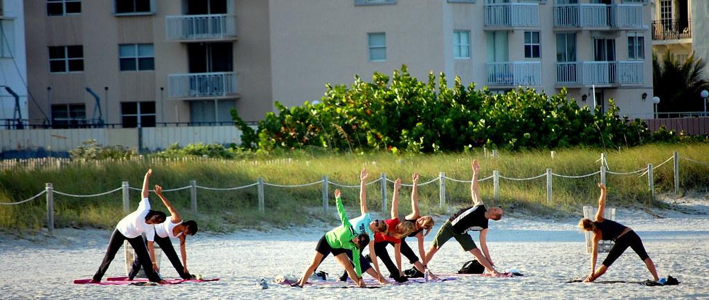 Yoga on The Beach South Beach Yoga on The Beach South Beach