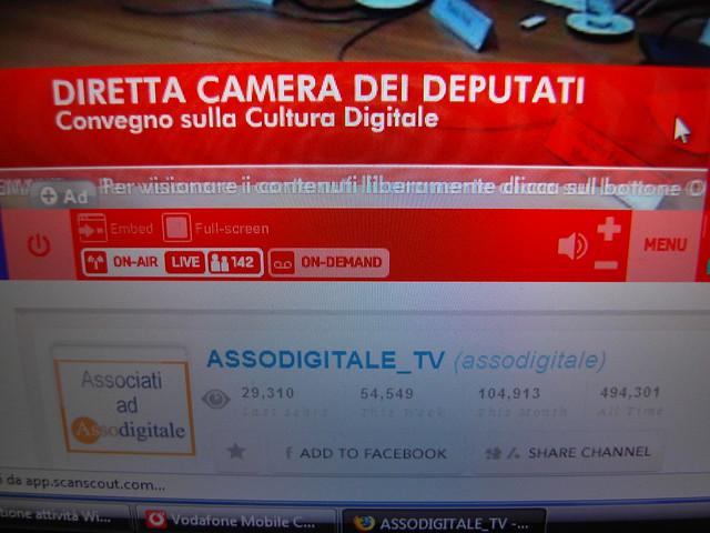 Convegno camera deputati diretta video mogulus flickr for Diretta camera deputati