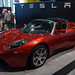 Much-vaunted Tesla electric roadster by voxluna