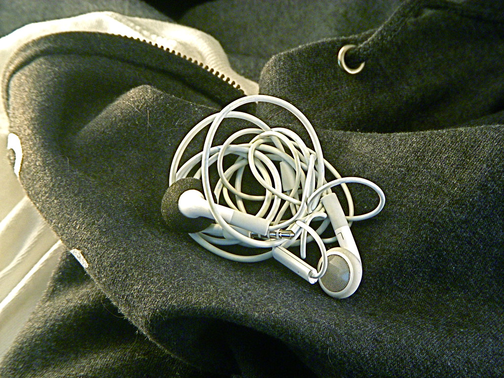 Washable Apple iPhone earbuds