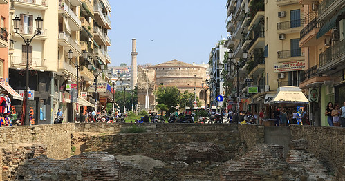 Thessaloniki / Saloniki  / Grecja 2009 / The Arch and Tomb of Galerius