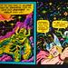 MARVEL COMICS THIRD EYE BLACKLIGHT GREETING CARD by VintageTrader