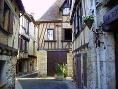 Maisons à colombages à Bergerac, Dordogne