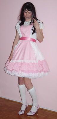 Sissy Baby Schoolgirl Clothes