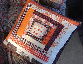 Fun Patchwork Pillow