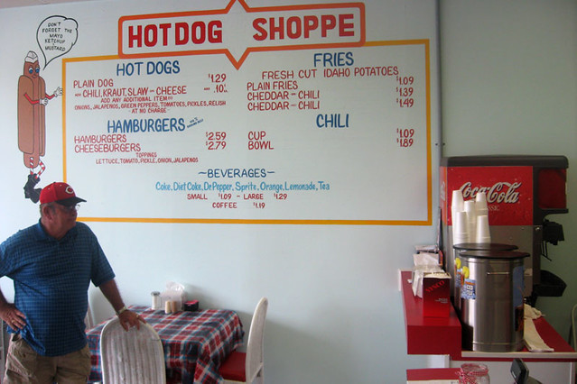 hot dog shop menu flickr photo sharing. Black Bedroom Furniture Sets. Home Design Ideas