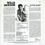Willis Jackson > In the Alley [back liner]