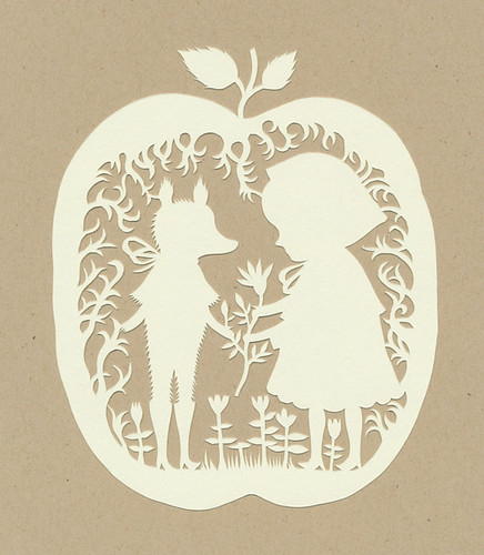 Red Riding Hood Papercut :)