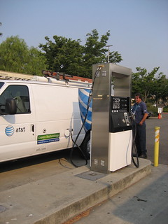 AT&T clean fuel vehicle fill-up