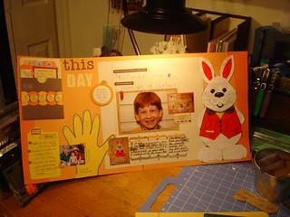 1st Grade:  2 page Layout