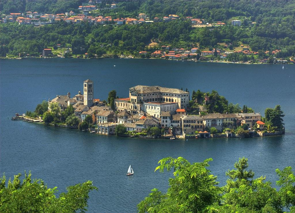 Island of Orta S.Giulio
