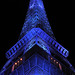 The Eiffel tower in blue - 9