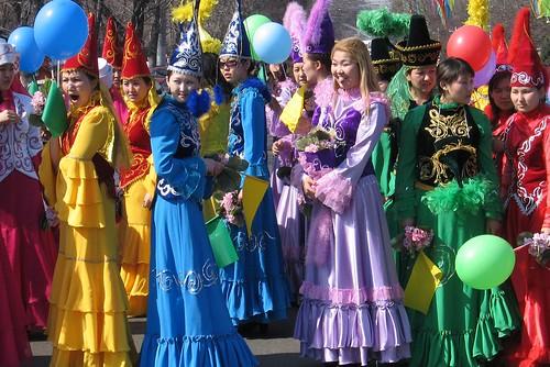 Nauruz, the snowy spring holiday in Kazakhstan
