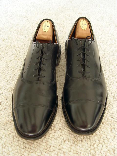 Allen Edmond Shoes Sale Black Dress   Eee Chester
