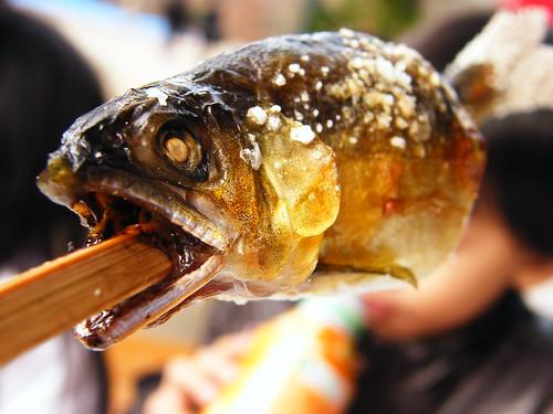 Ayu - 鮎塩焼き