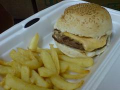 Steers Cheeseburger