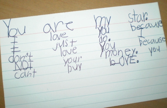 love note from Flickr via Wylio