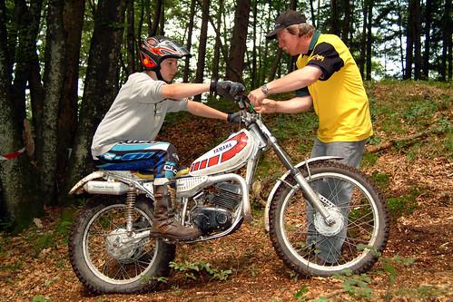 Yamaha TY Vintage Classic Trial Sport (c) 2005 Бернхард Эггер :: ru-moto images 389